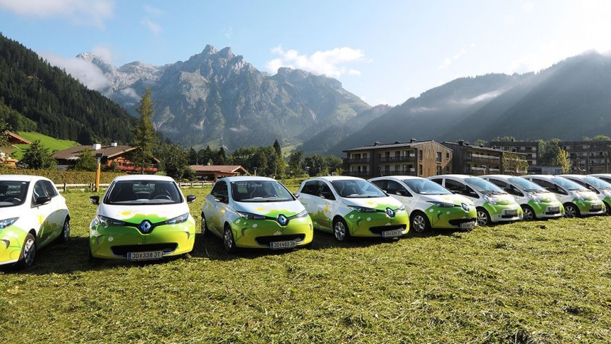 Electric mobility in the Alpine Pearls