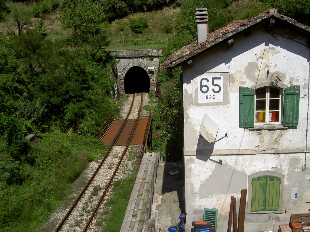 Faentina railway, a train travel on Dante's footsteps