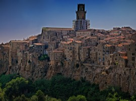 Pitigliano, one of the most beautiful villages of Italy