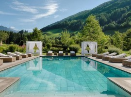 Alpen Palace, green and luxury hotel in South Tyrol, Italy