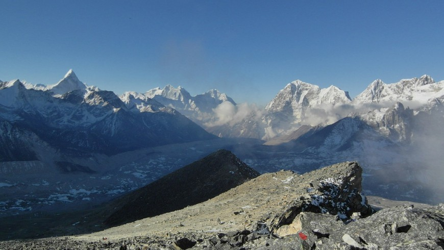 Sagarmatha, one of the most beautiful national parks in the world