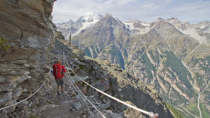 Haute Route is one of the most beautiful hiking trails in the world