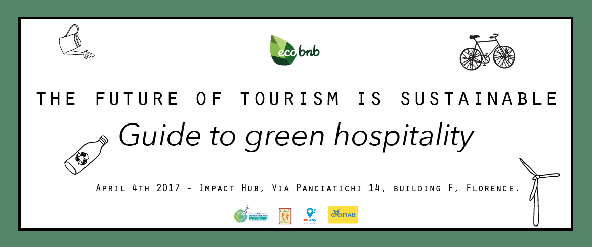 Workshop - the future of tourism is sustainable