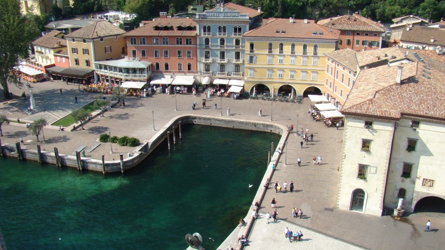 Riva del Garda, one of the most famous destinations on Lake Garda