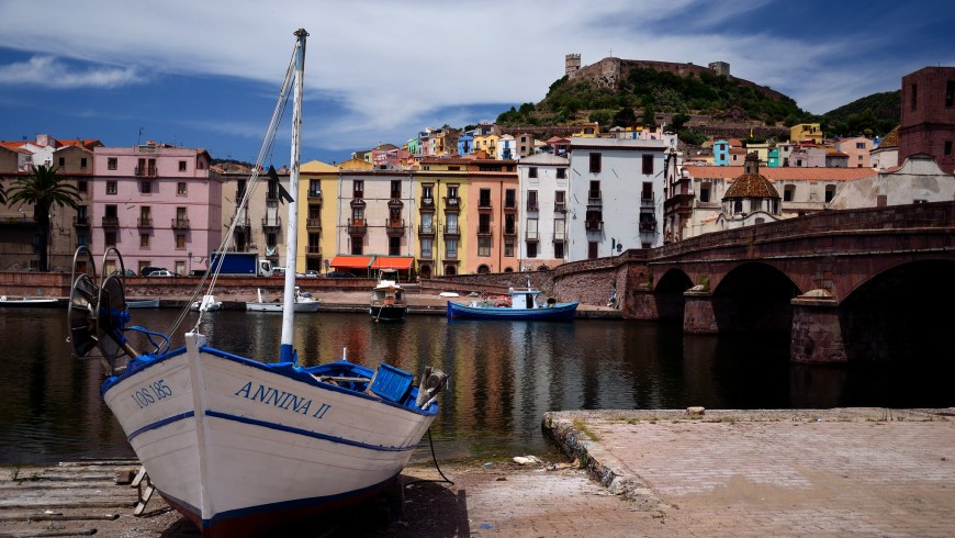 Bosa, one of the most beautiful villages of Italy