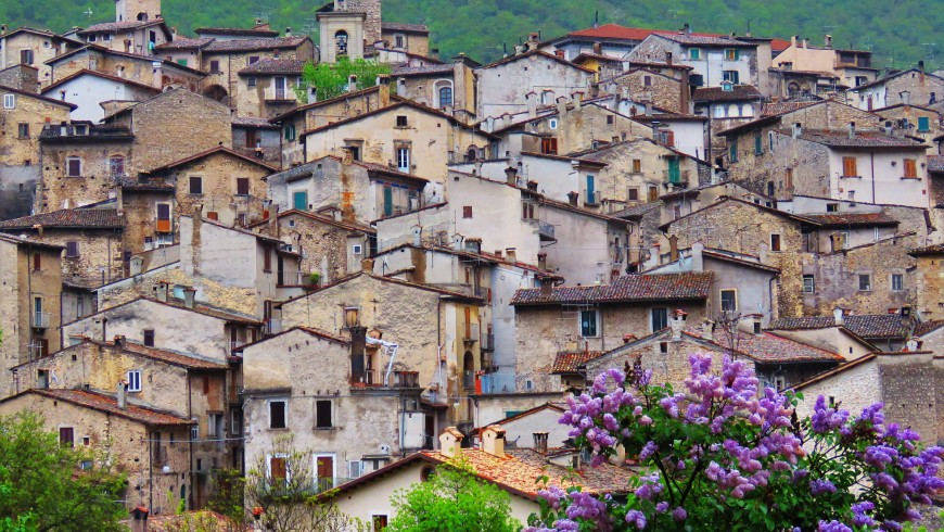 Scanno, one of the most beautiful villages of Italy