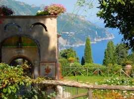 Villa Cimbrone one of the most beautiful parks of Italy