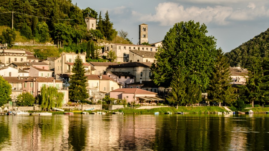 Piediluco, one of the most beautiful villages of Italy