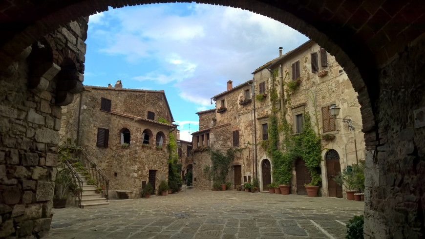Montemerano, one of the most beautiful villages of Italy