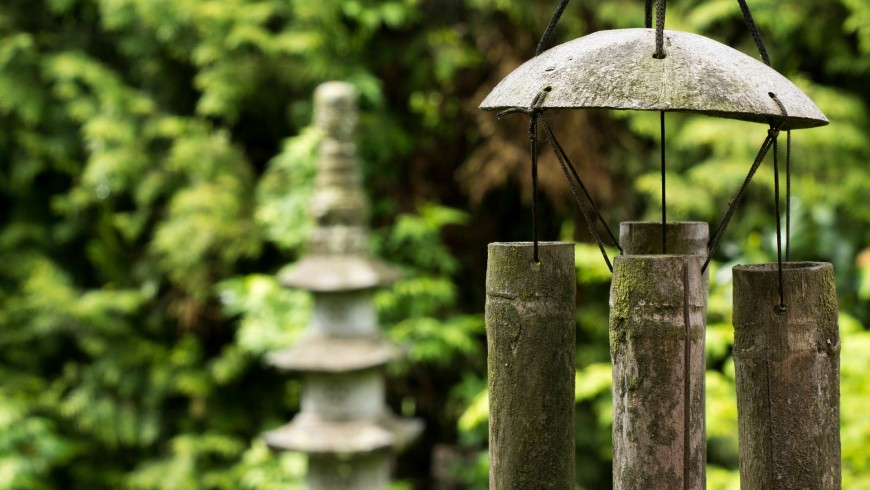 Feng-shui, the laws of harmony even on holiday