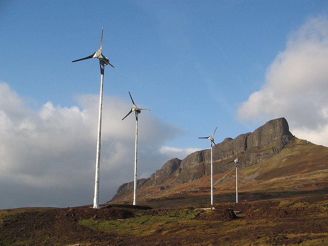 Sustainable energy in the Isle of Eigg
