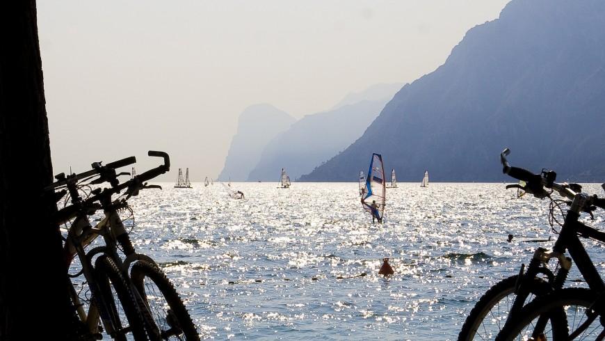 Bikes at Lake Garda