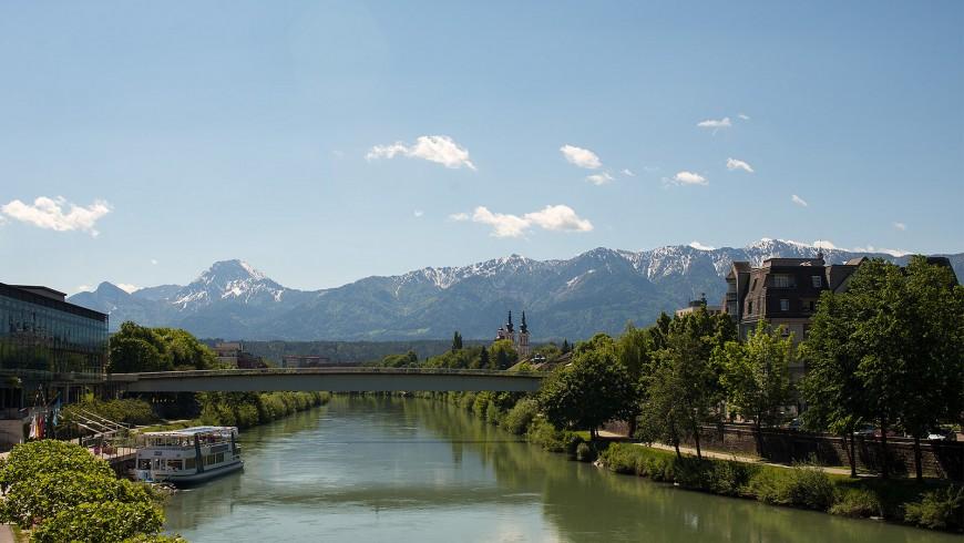 Drava River, Austria