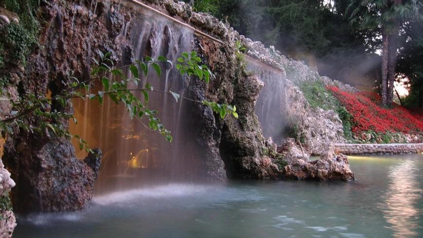 Hot Springs near Lake Garda