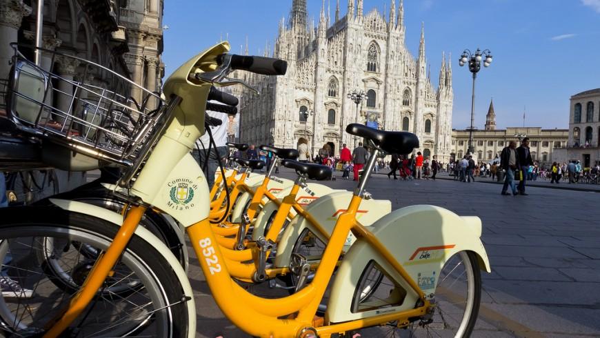 Milan's new Bike Sharing service