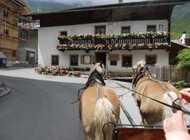 Plan, Moso in Val Passiria, South Tyrol