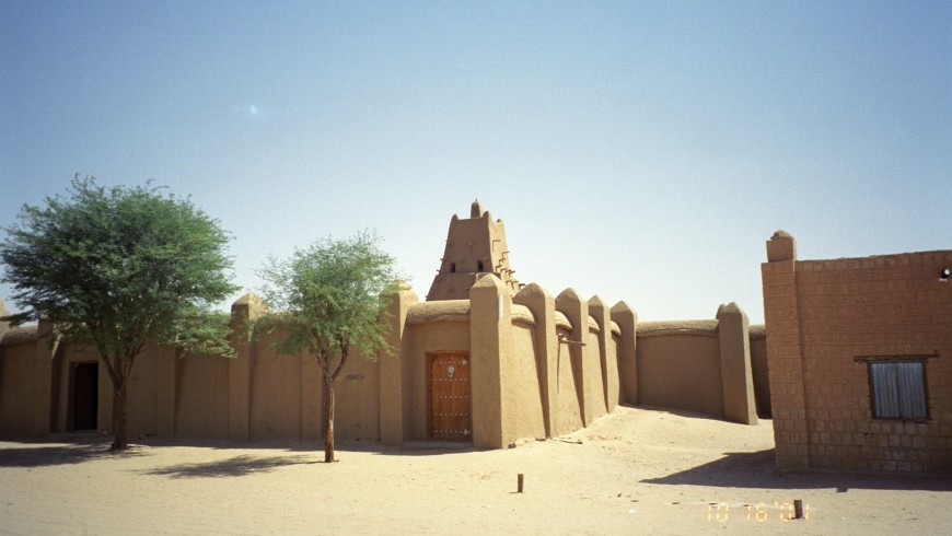 Tmbuktu, one of the places that may disappear because of climate change