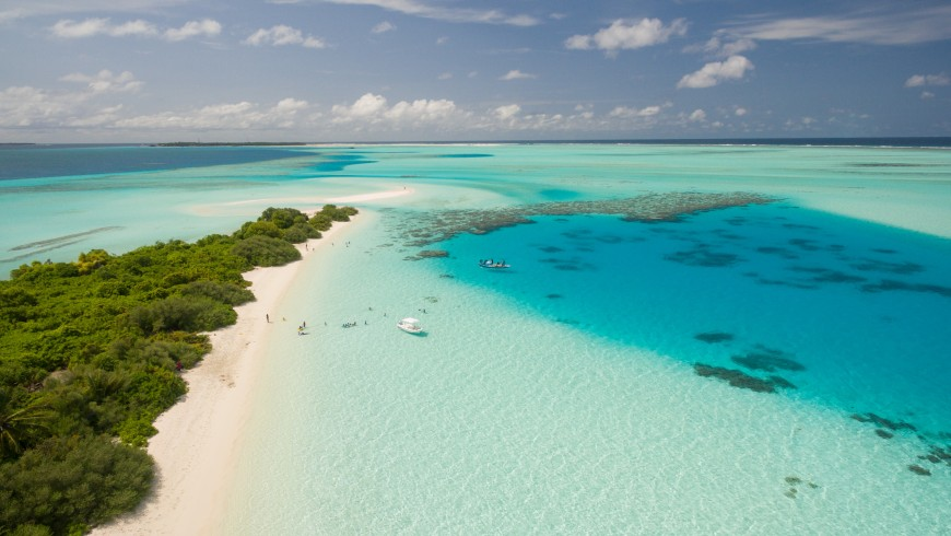 Maldives, one of the places that may disappear because of climate change