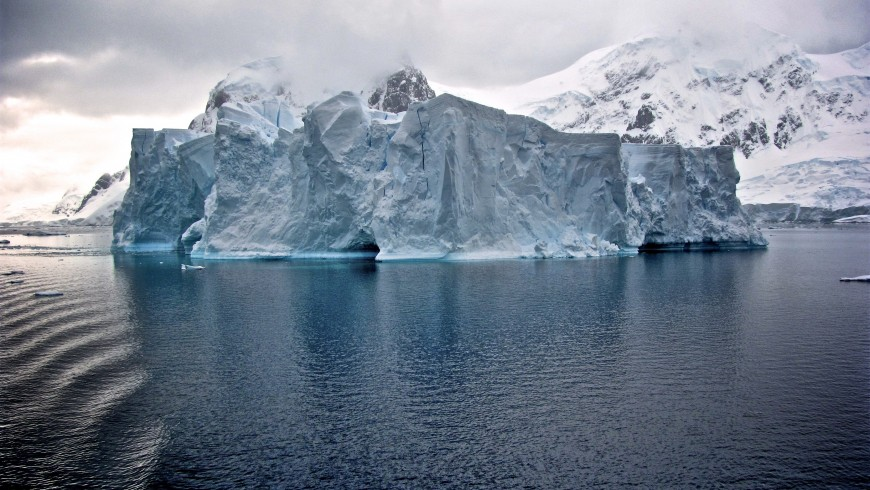 Antarctica, one of the places that may disappear because of global warming