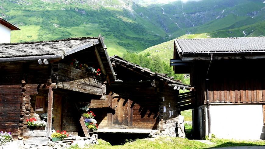 "Ancient ""Masi"", near Plan, Passeiertal, South Tyrol"