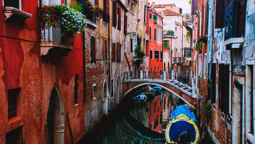 Venice, one of the places that may disappear because of global warming