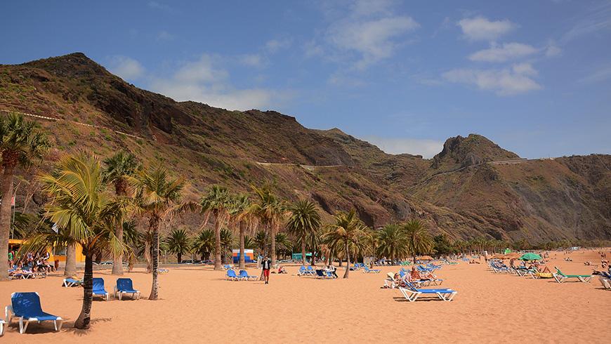 Playa de las Teresitas, Spain