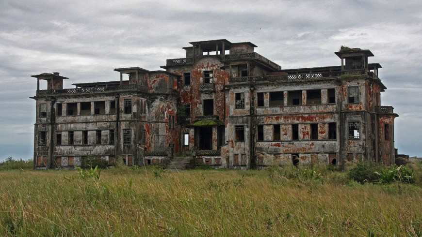 The ghost town of Bokor, Cambodia