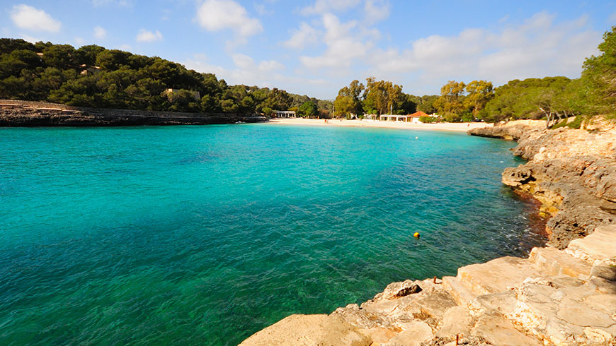 The 30 most beautiful beaches in Spain: Cala Mondrago