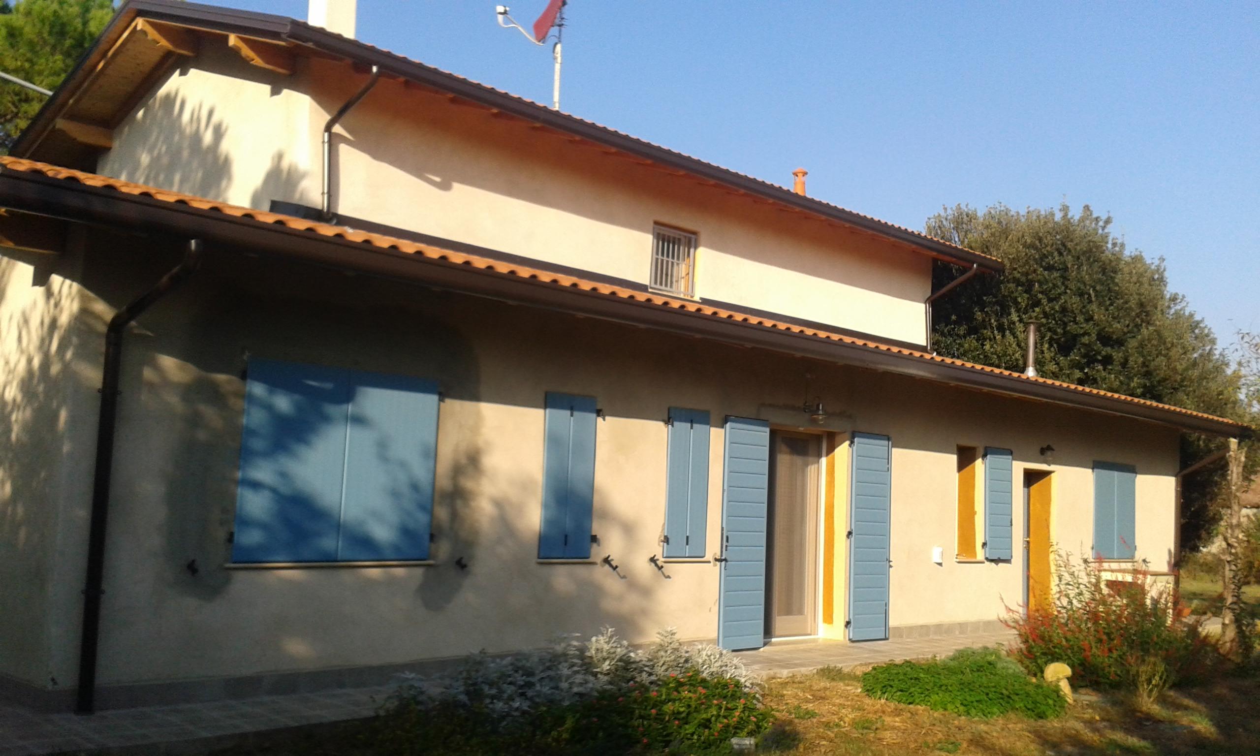 Holidays in a straw house - B&B ecofriendly Al Gufo Saggio Italy