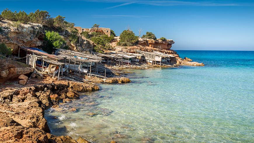 Cala Saona, Spain