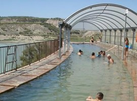 Free hot springs in Spain