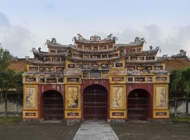 Palace of the Citadel of Huè, Vietnam