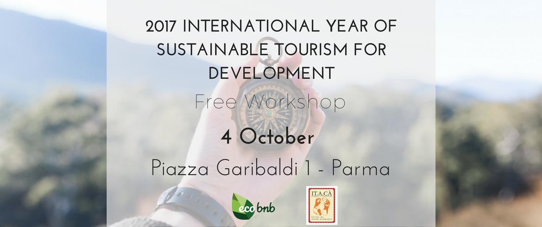 Copy of 2017 Anno internazionale del Turismo Sostenibile per lo Sviluppo