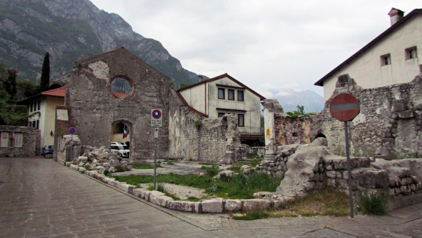 Venzone, along the cycle route of Alpe Adria