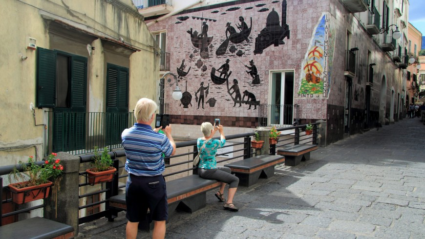 A journey through the painted villages of Italy: Vietri sul Mare
