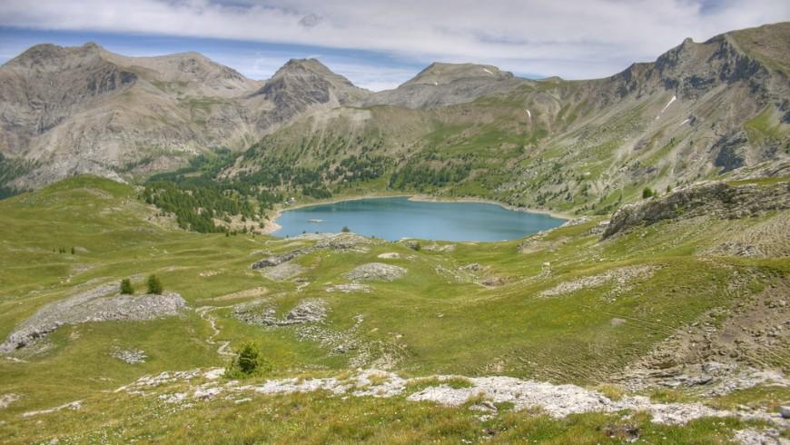 Lake Allos, Alpes-Maritimes