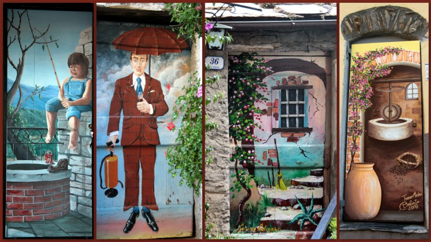 A journey through the painted villages of Italy: Valloria