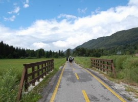 A cycle route from the Alps to the sea in Friuli