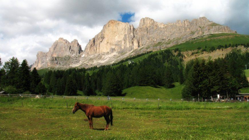Catinaccio mountains