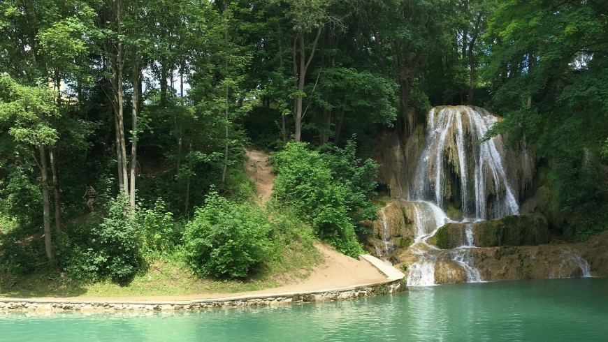 Lucky waterfalls