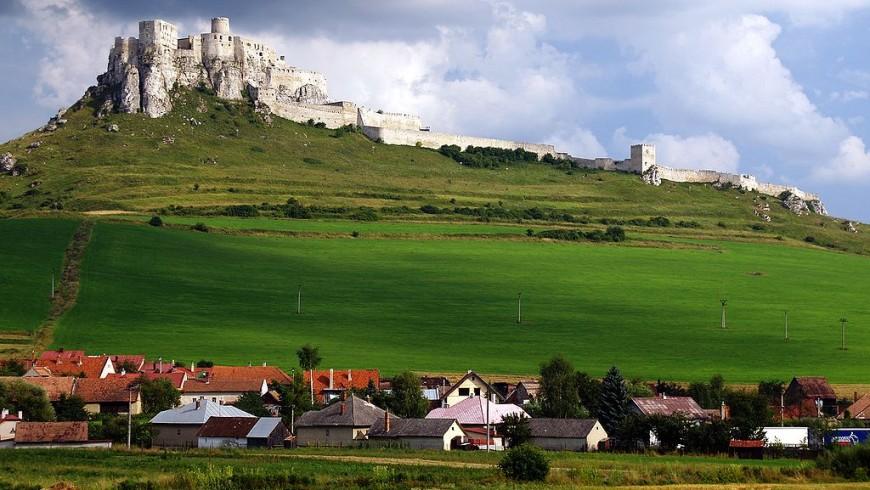 Spi castle, in Slovakia