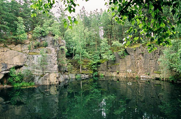 Necin, one of the best natural pools in Czechia