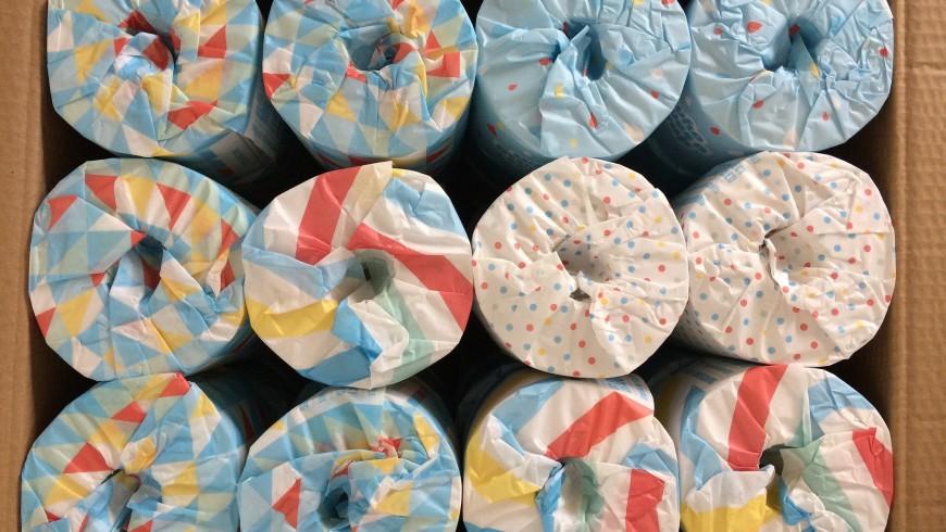 Zero-waste toilet paper