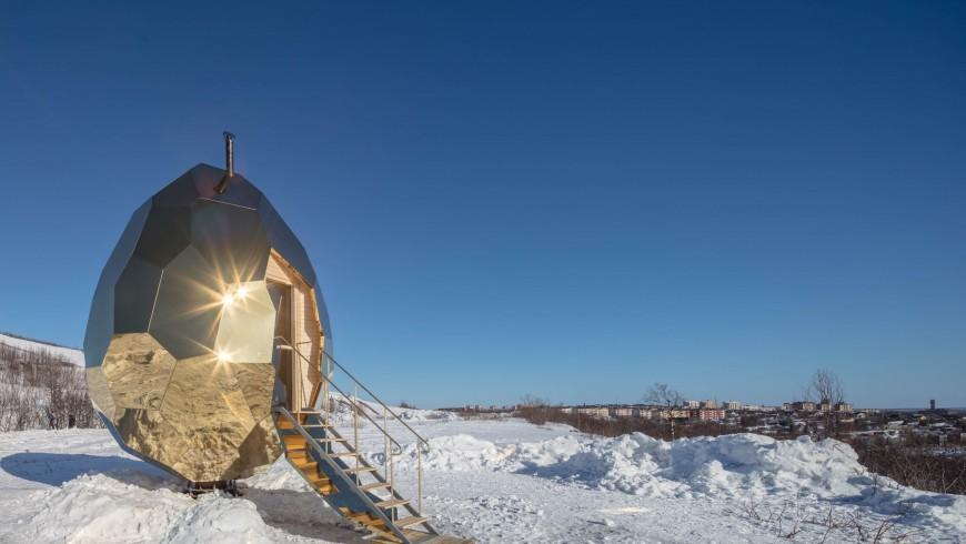 Solar Egg Sauna