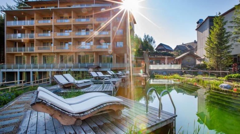 Luxury at high altitude: eco-hotels in the Alps