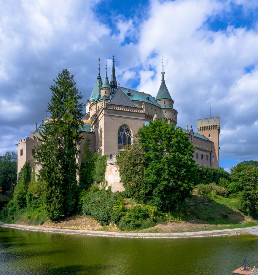 Bojnice, one of the most beautiful castles in Slovakia