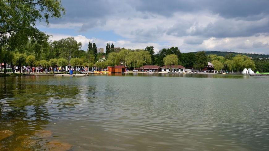 Chomutov lake