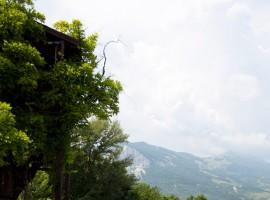 An eco-friendly tree house in Abruzzo