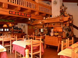 restaurant Notre Maison, where you can taste delicious local food