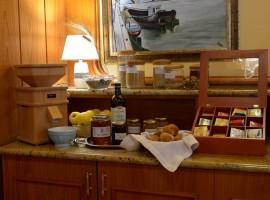Local and biological food, hotel Regina Elena